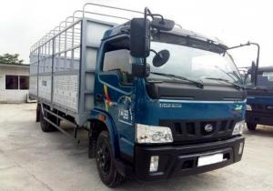 Cần bán Xe tải veam VT750 thùng kín, thùng dài 6m05