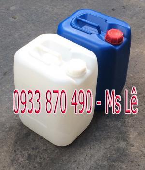 Bán can nhựa đựng hóa chất, can nhựa 20 lít, can nhựa 25 lít, can nhựa 30 lít, can nhựa 20 lít vuông