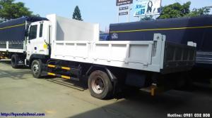 Xe ben tự đổ Hyundai HD120 nhập khẩu, tải trọng 6 tấn, thùng 5m3