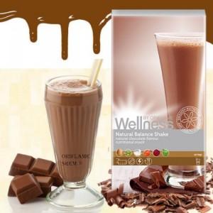 Thực phẩm dinh dưỡng vị Sôcôla Natural Balance Shake Chocolate 22138 – Wellness của Oriflame