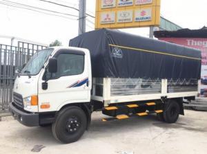 Xe tải Hyundai HD120s 8.5 tấn thùng mui bạt