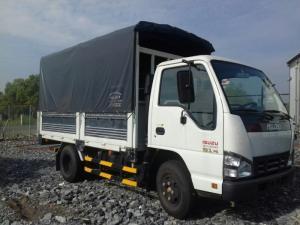 Xe tải Isuzu 1.9 tấn thùng mui bạt - Hotline: 0937901331 (24/24)