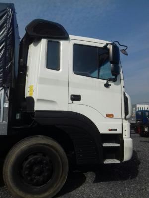 Xe tải Hyundai HD360 25 tấn thùng mui bạt, 5 chân