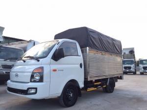 Xe tải HD100 thùng mui bạt, tải trọng 1.25 tấn - Trả trước 100 triệu, vay lãi suất thấp.