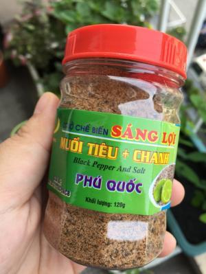 Muối Tiêu Chanh - Sáng Lợi - Đặc sản Phú Quốc - 120g