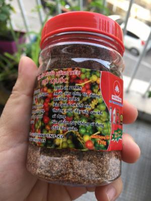 Thành Phần : 100% từ Tiêu chín đỏ - Đặc Sản Phú Quốc