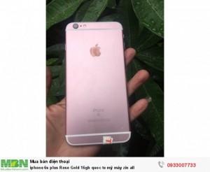 Iphone 6s plus Rose Gold 16gb quốc tế Mỹ máy zin all