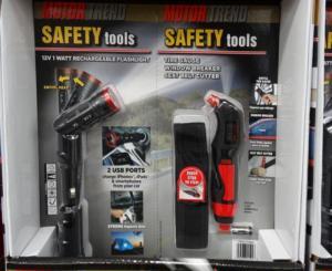 Motor trend Safety Tools - Bộ tool cứu hộ cho ô tô