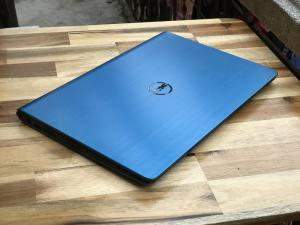 Các sản phẩm laptop của hãng Dell thường được nhiều doanh nhân, những người làm việc văn phòng quan tâm bởi sự bền bỉ, thiết kế tiện lợi và cấu hình mạnh mẽ. Dell Inspiron 15 5548 mang trên mình một thiết kế cứng cáp, tinh tế, thể hiện lên sự năng động, chuyên nghiệp trong phong cách làm việc. Laptop Dell Inspiron 15 5548 có cấu hình mạnh mẽ với chip Intel Core i5 thế hệ mới có tốc độ cao và tiết kiệm lượng điện năng tiêu thụ. ------------------------------------------ THÔNG SỐ KỸ THUẬT Bộ vi xử lý: Intel Core i5- 5200U (2x2.2GHz Turbo Boost 2.7GHz, Cache 3MB) Bộ nhớ trong: 4GB DDR3 1600MHz (hỗ trợ nâng cấp RAM 8GB, 16GB giá tốt) Ổ đĩa cứng: 500GB HDD Cạc màn hình: 2GB AMD Radeon HD R7 M265 Màn hình: 15.6 inch HD LED (1366x768) Ổ đĩa quang: không Webcam: 1.3 Megapixels Kết nối: HDMI, USB 3.0, USB 2.0, LAN, kết nối không dây Bluetooth. Thời lượng pin: 3 cells (sử dụng liên tục được 3 - 4 giờ) Kích cỡ: 380 x 259 x 21.8 mm Trọng lượng: 2.09 kg Hệ điều hành tương thích: Windows7, 8, 10 Tặng Cặp chuột Laptop BH: 03 tháng, Lỗi 1 đổi 1. Hỗ trợ vệ sinh máy và cài đặt phần mềm trọn đời. ----------------------------- CAM KẾT HÌNH THỨC SẢN PHẨM - Hình thức máy bán ra 95-98% - Không bán máy xước nhiều, móp méo đã qua sửa chữa - Máy Nguyên Bản 100% Hotline: 0941.922.639 - 0888.019.777