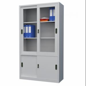 Tủ hồ sơ văn phòng cửa lùa sơn tĩnh điện cao cấp
