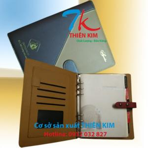 Cơ sở sản xuất bìa còng, bìa đựng hồ sơ, cung cấp bìa sổ tay da, bìa kẹp trình ký,