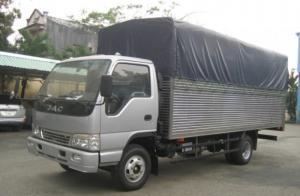 Bán Xe Tải Jac 3T45 thùng lửng, thùng dài 4m2