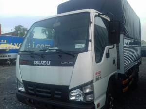 xe tải 1.4 tấn QKR55F isuzu thùng mui bạt - 1.4 tấn isuzu mua trả góp.