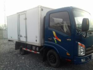 Xe tải 1 tấn Veam VT100 thùng kín- hỗ trợ mua trả góp 90% giá trị xe.