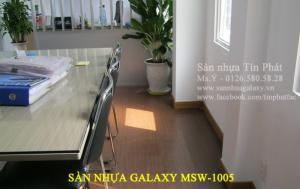 Sàn nhựa Galaxy, gạch nhựa giả gỗ Galaxy MSW 1005