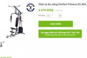 máy tập tạ đa năng Perfect Fitness ES 404