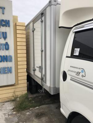 Xe tải Huyndai Porter thùng đông lạnh bãi Hàn tải 1 tấn