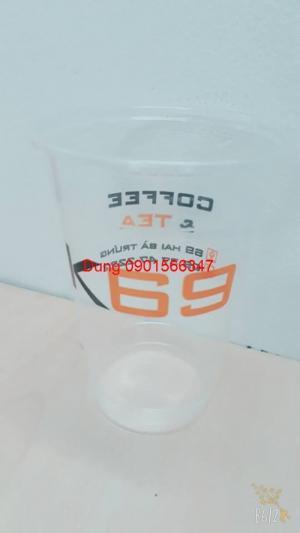In logo ly nhựa cho ngày mưa