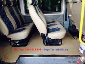 Nội thất Transit Luxury tiện nghi,đẳng cấp
