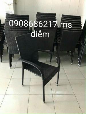sản xuất bàn ghế mây giá rẻ