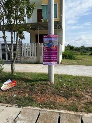 Cần bán 4 lô đất đối diện trường trung cảnh sát nhân dân và Thăng Bình Quảng Nam
