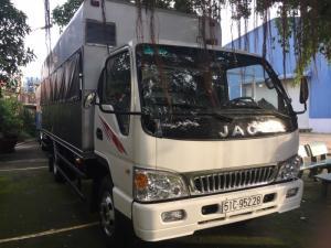 xe JAC 4.99 tấn, thùng 5.3m, giá rẻ, đời 2017