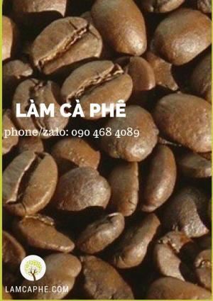 Cà phê hạt Robusta rang fullcity phù hợp cho quán cà phê