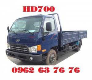 Xe tải hyundai 7 tấn HD700 đời 2017, bán trả góp