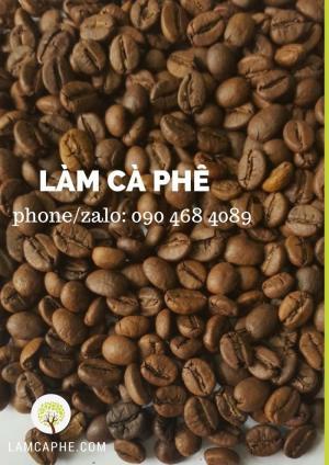 Cà phê HẠT rang xay nguyên chất ngon, giá tốt tại hồ chí minh