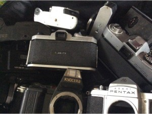 Máy ảnh và lens sưu tầm cho ai thích sưu tầm