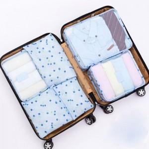 Combo 6 túi đựng đồ du lịch Đa Năng Chất liệu vải poly dày dặn - MSN1831041