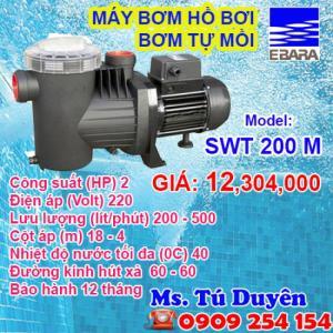 Chuyên phân phối máy bơm bể bơi, tự mồi Ebara từ Ý, nhập khẩu chính hãng
