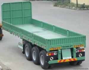 Mua bán Sơ mi rơ moóc Sàn 9,2M Có thành lửng DOOSUNG 30 tấn chất lượng với giá gốc