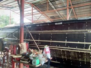 Ghe gỗ cây sao lâu năm bao chắc 45 tấn