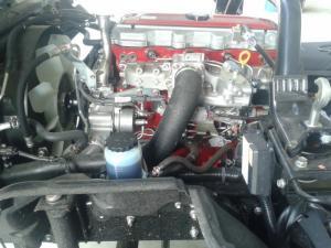 máy cơ khỏe mạnh được sản xuất tại nhà máy HINO nhật bản ,gọn gàng ,tiết kiệm nhiên liệu ,trong quá trình sử dụng ít sửa chữa