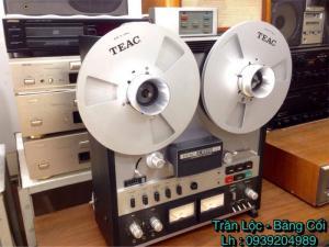 Máy băng cối TEAC A - 6300 MKII có remote khiển zin