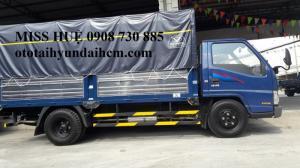 xe tải iz49 đô thành máy isuzu tiết kiệm nhiên liệu