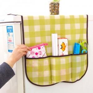 Được thiết kế vừa vặn để phủ lên đầu tủ lạnh, đồng thời che được cả hai mặt bên