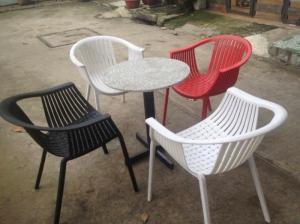 Bán ghế nhựa bành chân nhôm giá rẻ