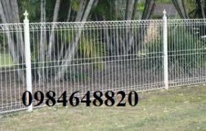 Chuyên sản xuất lưới thép hàn hàng rào phi 5 ô 50x100, 50x150, phi 6 giá rẻ