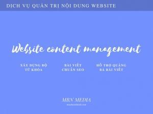 Dịch vụ quản trị nội dung VIPPage MuaBanNhanh | MBN Media