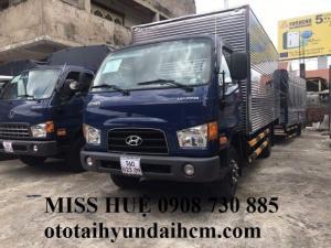 xe tải hyundai hd99 6.5 tấn thùng kín, giao ngay