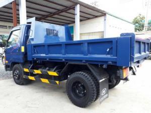 xe ben tự đổ hd65 2.5 tấn - hàng ngập tràn