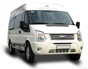 Ford Transit Limousine, 10 chỗ, bản trung cấp, vay trả góp chỉ 150 triệu, giao xe trong 30 ngày