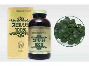 Tảo mặt trời Spirulina Algae Nhật bản