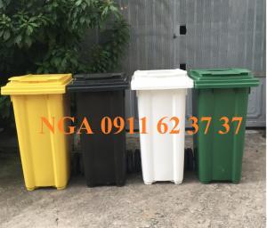 bán thùng rác 660 lít, 60 lít, 120 lít, 240 lít  ngoài trời  tại nha trang khánh hòa