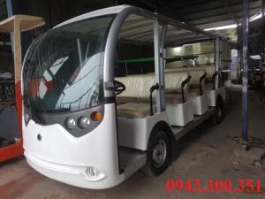 Xe điện chở khách kiểu bus giá tốt tại Long Biên - Hà Nội