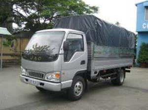 Xe tải JAC 2T4 Thùng bạt 3m72