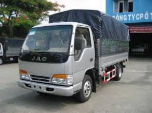 xe tải jac mui bạt_2.4t_cho vay trả góp