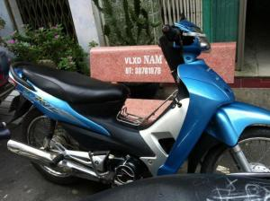 bán xe wave 50cc màu xanh